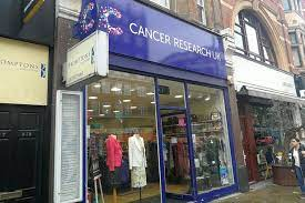 Cancer Research shop front photo