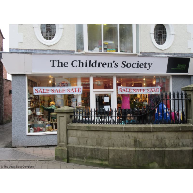 The Childrens Society shop front photo