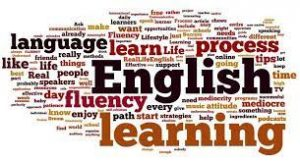 English word cloud
