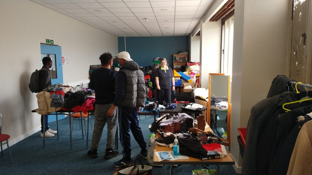 Free clothes at The Ask Club