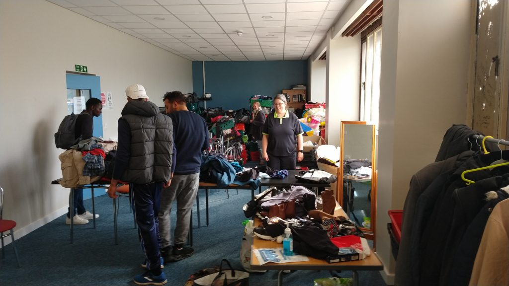 Free winter coats at The Ask Club